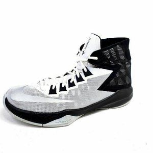 Nike Mens 10 Zoom Devosion Basketball Shoes White